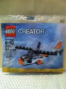 Lego Creator Helicopter 30181 New 52 Pcs