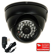 700tvl Security Camera W/ Sony Effio Ccd Outdoor Ir Night Wide Angle And Power Bdd