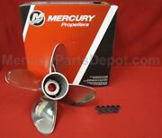 Mercury Pro Max Propeller 14.5 X 29 Pitch Rh 48- 8m0079704 - New Prop