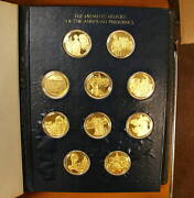 Medallic History Of American Presidency Gold On Silver