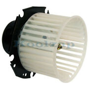 Pontiac Buick Olds Cadillac Front Heater A/c Condenser Blower Motor W/fan Cage