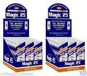 60 X Magic25 Cigarette Filters Total 600 Filters W/free Efficient Filters