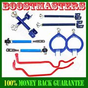 For Nissan 89-94 240sx S13 Swaybarcamber Armsuspension Kittension Rod New Set