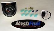 Manchester Propane Tank Remote Fuel Level Gauge Sight Dial Electric Snap In Lpg