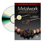 Metalwork How To Shape,texture And Antique Wireworked Dvd, Ronna Sarvas Jewelry