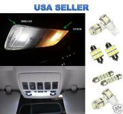 11pc Led Interior Package Kit For Toyota Sienna 2011+