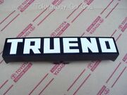 Toyota Corolla Cp Coupe Ae86 Front Bumper Emblem Badge New Genuine Oem Parts