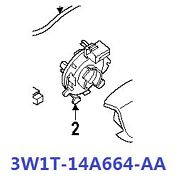 3w1t14a664aa New Clock Spring For Ford Crown Victoria Marquis Lincoln Town Car