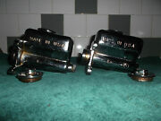 1957 /62 Ford F100 Chrome Brake And Clutch Master Cylinders