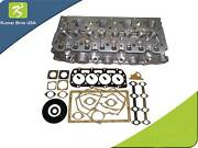 New Perkins 404c-22 Diesel Complete Cylinder Head W/ Valves And Full Gasket