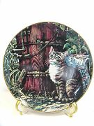 Friends Of Mine Collector Plate By Lowell Davis - Portrait Of A Cat