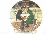 Valentines Day Collector Plate From Edwin K Knowles China Co.