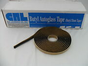 Auto Glass Sealant / Adhesive / Butyl Tape 15and039 Roll Soft Seal 1/4 Round New