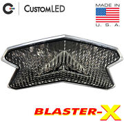 Zx-6r 636 Blaster-x Integrated Tail Light Programmable Ultra-bright Zx6 Clear
