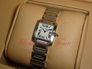 Tank Francaise Ladies Silver Dial - Stainless Steel Ref W51008q3
