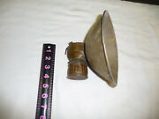 Early Coal Miners Carbide Lamp Trade Justrite Made In Usa