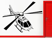 Helicopter Military Army Air Force Decor Wall Stickers Vinyl Decal Z2264