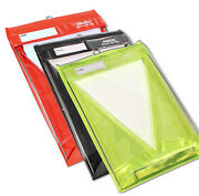Stormwriter A4 Portrait Waterproof Clipboard In Red Black Or High Vis Yellow