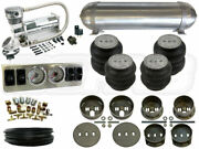 Air Suspension Kit - 1965-1972 Mercedes W108 1/4 Analog Airbag System - Bcfab