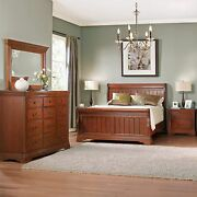 Ashland Sleigh Bed 5 Pc Queen Bedroom Group