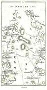 Antique Map Taylor And Skinner Road From Navan To Clones
