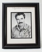 Tom Selleck Signed Autograph 8x10 Bandw Photo Unframed