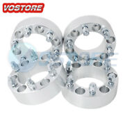 4 2 Wheel Spacers Adapters 6x5.5 Fits Chevy Silverado 1500 Suburban Gmc Truck