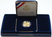 2001 Capitol Visitor Center Unc 5 Gold Five Dollar Commem Coin W Box And Coa Dgh