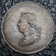 Old Canadian Coin - 1834 - George Ords Token Br61 - Irish Half Penny - Rare