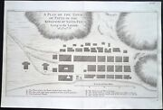 Antique Map, Seale / Anson, Payta In The Kingdom Of Santa Fee