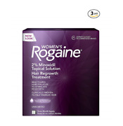 Rogaine Womenand039s Topical Solution 9 Months 2 Minoxidil Hair Regrowth Liquid