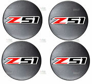 2014-2018 Corvette Z51 Gray Metallic Gray Center Caps Set Of 4 C7 Oe Gm 19301421