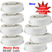 100ft Rg59 Hd Solid Copper Cable To1 Hd-sdi Camera Ip Camera Security Camera