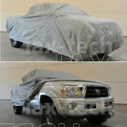 2014 2015 2016 2017 Toyota Tacoma Double Cab 6 Ft Bed Breathable Truck Cover