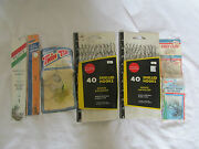 New Vintage Lot Of Fishing Hooks Snelled Pucci Twin Tand039s Eagle Claw Johnny Walker