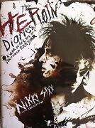 Heroin Diaries Book Autographed By Nikki Sixx, 1st Psa, Great Condition