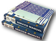 Lot Ford 2000 5000 Series Tractor Service Repair Shop And Operators Owners Manuals