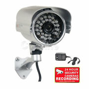 Security Camera 700tvl Day Night Outdoor 28 Ir Led W/ Sony Effio Ccd And Power A73