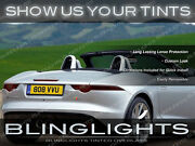 Jaguar F-type Murdered Out Tail Lights Overlays Tinted Lense Protective Film Kit