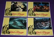 The Lord Of The Rings Lobby Card Set 8 Cards Ralph Bakshi 1978