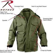 Olive Drab Green Military Waterproof Soft Shell Tactical M-65 Field Jacket 5744