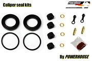 Kawasaki Kz 1000 P1-10 Police Front Brake Caliper Seal Repair Kit 1982 1983 1984