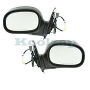 F-series Pickup Truck Power Non-heated Chrome Mirror Right And Left Side Pair Set