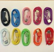 200 Lot Micro Usb Charger Cable Data Sync Transfer Color Htc Samsung Wholesale
