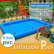 Inflatable Pool For Water Walking Ball Zorb Ball And Other Games 9 Size