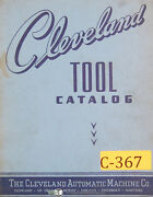Cleveland Tools, A B Ab Aw, Cross Slide, Turret And Milling Slide Tools Manual
