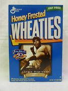 Jackie Robinson Brooklyn Dodgers Collectible Wheaties Never Been Open Cereal Box