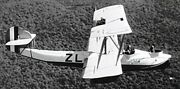 Vedette Canadian Vickers Survey Airplane Wood Model Replica Small Free Shipping