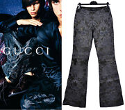 S/s 2000 Vinage By Tom Ford Embroidered Leather Pants From The Ad Campaign