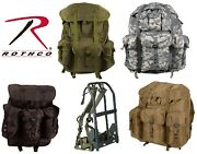 Military Style Large Alice Pack And Metal Frame Rothco 2266 2240 2275 2966